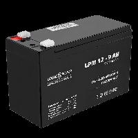 Аккумулятор кислотный LogicPower AGM LPM 12v - 9,0 AH