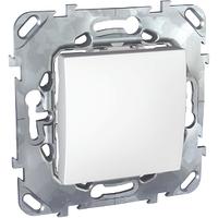 Выключатель проходной Белый Unica Schneider, MGU5.203.18ZD