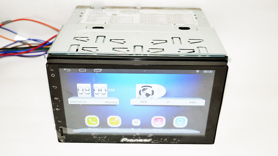 Автомагнитола 2DIN Android GPS WiFi 4 ядра Pi-707
