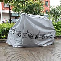 Чехол для Велосипеда накидка вело от дождя Серый