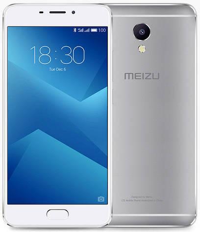 Meizu M5 NOTE 3/16Gb Silver Гарантия 1 Год, фото 2