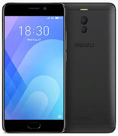 Meizu M6 NOTE 3/16Gb Black Гарантия 1 Год