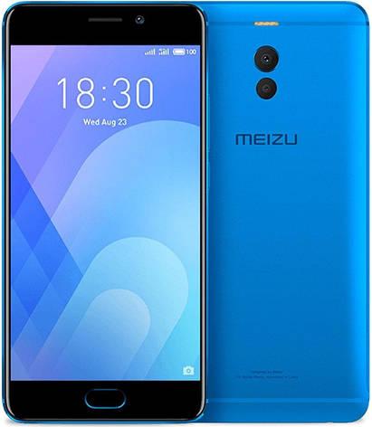Meizu M6 NOTE 3/32Gb Blue Гарантия 1 Год, фото 2