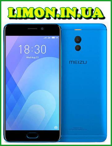Meizu M6 NOTE 4/64Gb Blue Гарантия 1 Год, фото 2