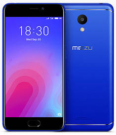 Meizu M6 3/32Gb Blue Гарантия 1 Год
