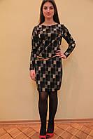 Платье молодежное в клетку Dress Code в Одессе, фото 1