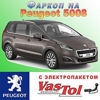 Фаркоп Peugeot 5008 (прицепное Пежо 5008), фото 1