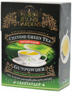 Чай Sun Gardens Gunpowder(Ганпаудер) ,100 гр.