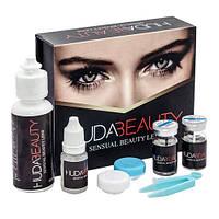 Линзы голубые косметические HUDA BEAUTY Sensual Beauty Lens (True Sapphire)