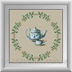 Алмазная вышивка Dream Art Чаепитие (DA-30639) 34 х 34 см