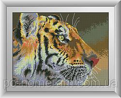 Алмазная вышивка Dream Art Тигриный взгляд (DA-30652) 35 х 46 см
