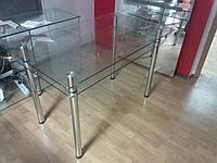 Обеденный прозрачный стол, фото 1