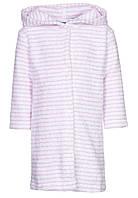 Халат в бело-розовую полоску, Bellybutton 122cm., фото 1