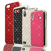 Накладка со стразами Diamond iPhone 5C Red