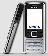 Мобильный телефон Nokia 6300 Silver (3 месяца), фото 1