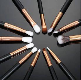Набір пензликів для макіяжу 12шт