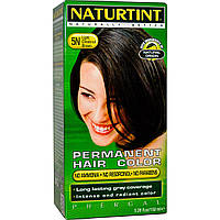 Naturtint, Постоянная краска для волос, 5N коричневый светло-каштановый, 5.98 жидких унций (170 мл)