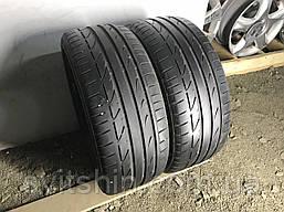 Шины бу лето 225/40R18 Bridgestone Potenza s001 2шт 6мм