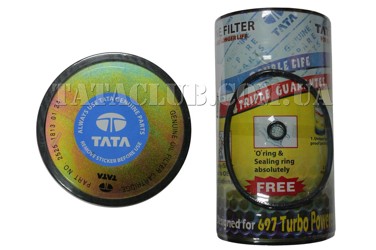 Фильтр-вставка фильтрации масла двс (613 EI,613 EII ) (гарантия на пробег 18000km) TATA Motors / OIL FILTER