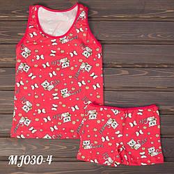 Комплект на девочку (майка и шорты) Sweet Cat Majestic MJ030-4