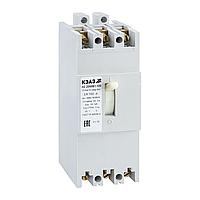 Автоматический выключатель АЕ-2063М-100-00 160 А