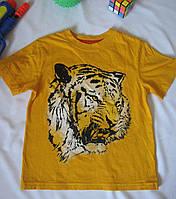 Футболка Circo Тигр рост 104 см желтая 07127, фото 1