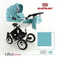 Универсальная коляска 3 в 1 Adbor Ottis limit 18 с автокреслом , фото 1