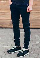 Мужские стильные джинсы Staff Navy skinny тёмно-синие 475ea98db58e2