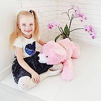 Мягкая игрушка Zolushka Медведь Соня большой 76см розовый (0903)