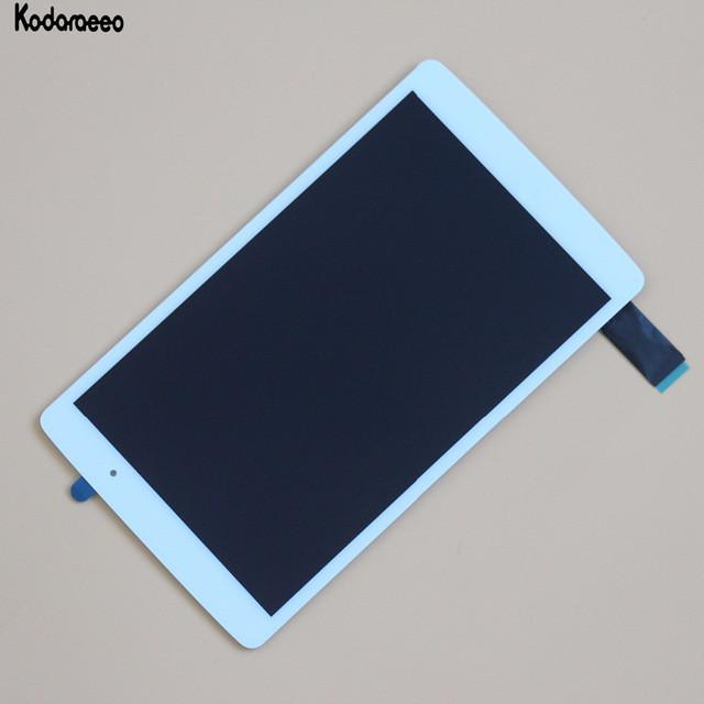 Дисплейный модуль для планшета LG G PAD X V521 белый с рамкой