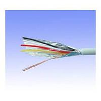 Сигнальный кабель 4 * 0.22 mm, FTP CCA. , экранированный, белый, 100м