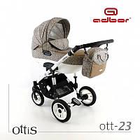 Универсальная коляска 3 в 1 Adbor Ottis 23 с автокреслом , фото 1