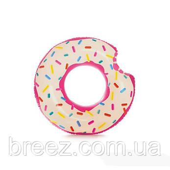 Надувной круг для плавания Пончик Intex 107 х 99 см , фото 2