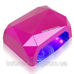 """LED+CCFL лампа гібридна 36 Вт, серія """"Хром"""", з сенсорним датчиком"""