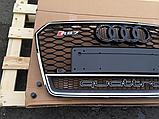 Решетка радиатора RS7 Quattro на Audi A7 (2015-...), фото 3