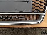 Решетка радиатора RS7 Quattro на Audi A7 (2015-...), фото 5