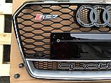Решетка радиатора RS7 Quattro на Audi A7 (2015-...), фото 6