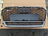 Решетка радиатора RS7 Quattro на Audi A7 (2015-...), фото 7