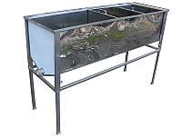 Стол для распечатки сот удлиненный 1.5м с двумя корзинами, фото 1