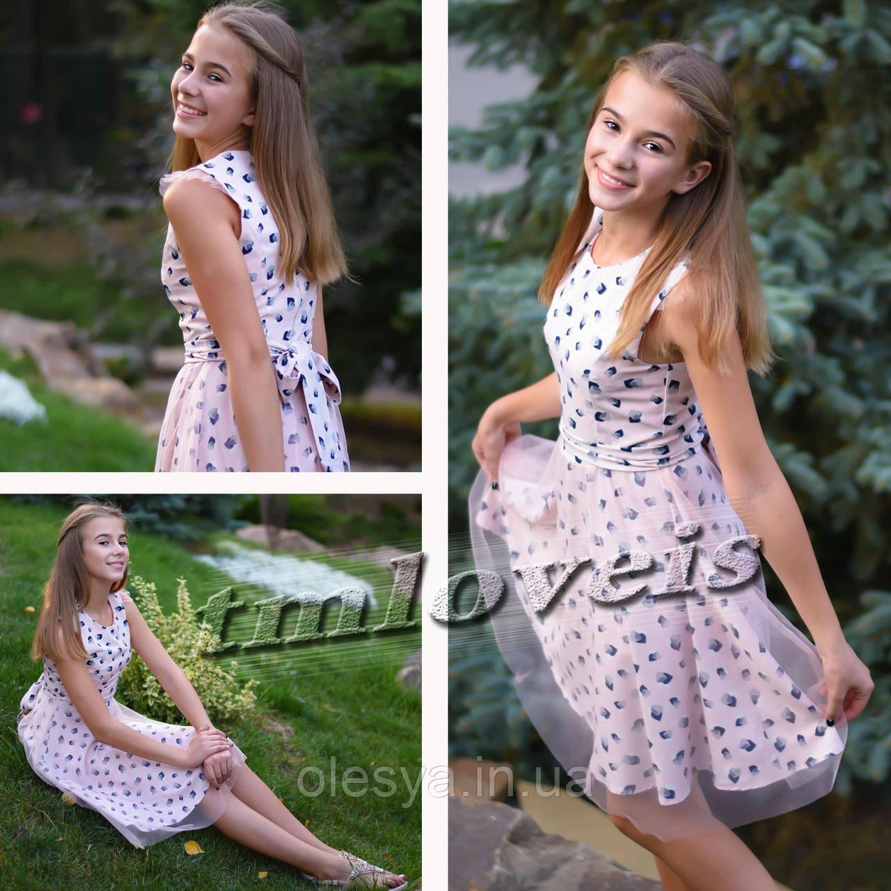 891b289684ad33e Летнее подростковое платье Мечта Размеры 140- 164: продажа, цена в ...