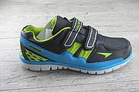 Кроссовки, мокасины подростковые на липучке Walker, обувь детская, спортивная, повседневная