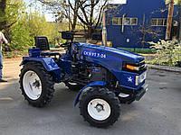 Мототрактор Garden Scout T 24 (24 л.с, фреза 1.4 м, колеса 20/9,5)