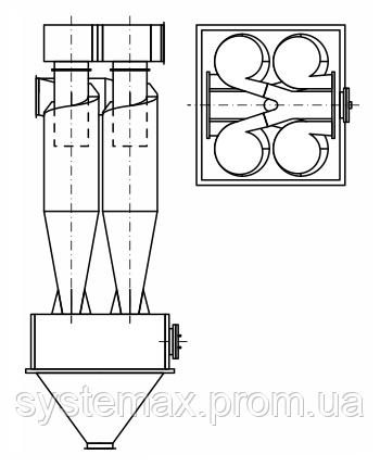 циклон цн-15х4УП