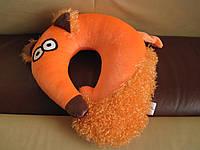 Детская автомобильная подушка подголовник Лиса