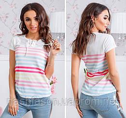 Жіноча футболка поло 2244