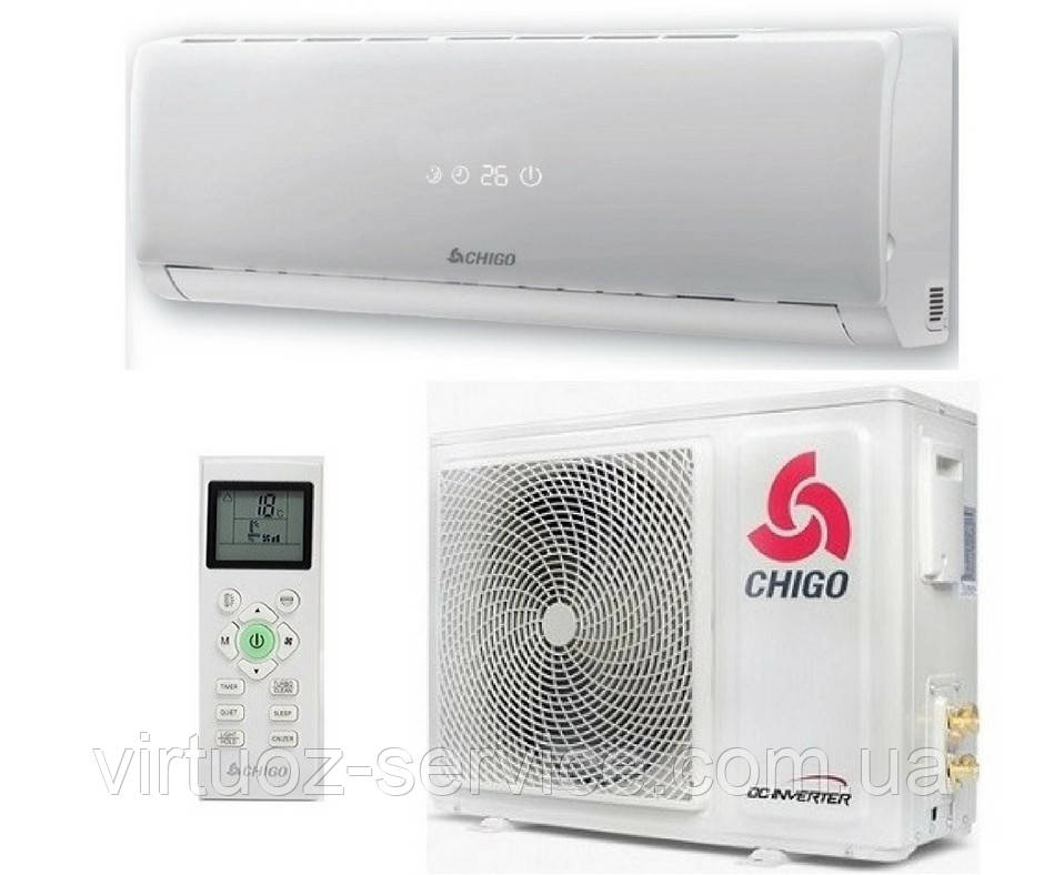 Кондиционер CHIGO CS-70V3A-1W169ATS серии NEW FJORD 169 WiFi INVERTER