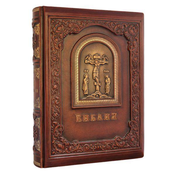 Шкіряна Біблія з гравюрами Гюстава Доре