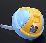 Поилка непроливайка с силиконовой трубочкой, фото 3