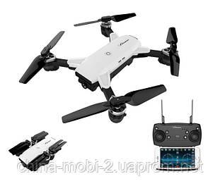 Складной квадрокоптер Drone YH-19HW, дрон с WiFi HD камерой