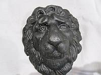 Лев кованый литой 138*107 мм, фото 1